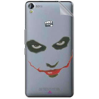 Snooky Digital Print Tpu Transpanent Mobile Skin Sticker For Micromax Canvas Juice 3+ Q394