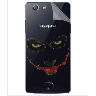 Snooky Digital Print Tpu Transpanent Mobile Skin Sticker For Oppo Neo 5