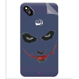 Snooky Digital Print Tpu Transpanent Mobile Skin Sticker For Micromax Bolt D303