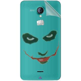 Snooky Digital Print Tpu Transpanent Mobile Skin Sticker For Micromax Canvas Unite 2