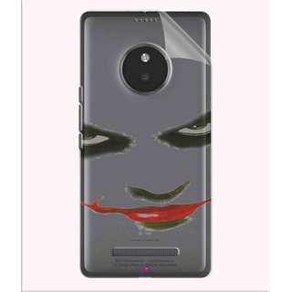 Snooky Digital Print Tpu Transpanent Mobile Skin Sticker For Micromax Yu Yunique