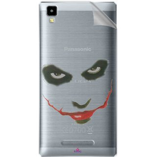 Snooky Digital Print Tpu Transpanent Mobile Skin Sticker For Panasonic Eluga A2
