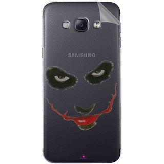 Snooky Digital Print Tpu Transpanent Mobile Skin Sticker For Samsung Galaxy A8
