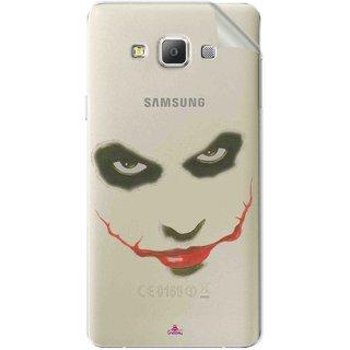 Snooky Digital Print Tpu Transpanent Mobile Skin Sticker For Samsung Galaxy E5
