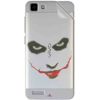 Snooky Digital Print Tpu Transpanent Mobile Skin Sticker For Vivo Y27L