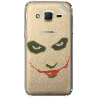 Snooky Digital Print Tpu Transpanent Mobile Skin Sticker For Samsung Galaxy j2