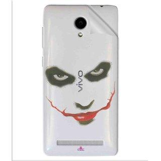 Snooky Digital Print Tpu Transpanent Mobile Skin Sticker For Vivo Y28