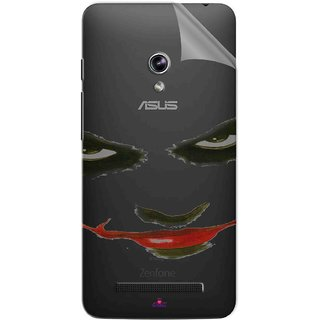 Snooky Digital Print Tpu Transpanent Mobile Skin Sticker For Asus Zenfone 5