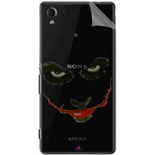 Snooky Digital Print Tpu Transpanent Mobile Skin Sticker For Sony Xperia M4
