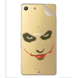 Snooky Digital Print Tpu Transpanent Mobile Skin Sticker For Sony Xperia M5