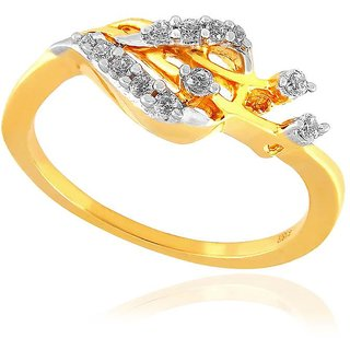 Maya Gold Ring PR13015_22KT
