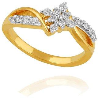 Maya Gold Ring GWR0031_22KT