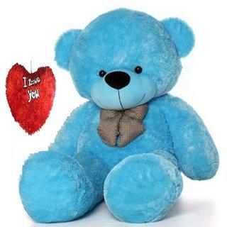 buy stuffed toy 5 feet soft and cute teddy bear blue online get
