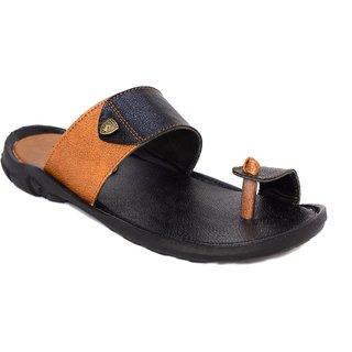 Blue pop casual Black 1001 slippers