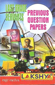 Last Grade Servents Previous Question Papers