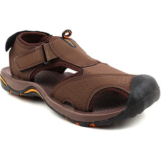 fcfb62f26eb Buy FUEL Men s Boy s Fashionable Comfortable Velcro Closure Solid Casual  Floaters Sandals Online   ₹899 from ShopClues