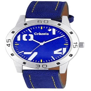 Crazeis Blue Color Dial Analog Watch For Men/BoysCRWT-MD31