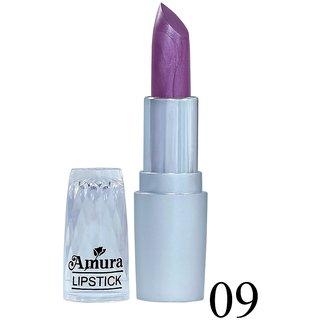 Amura Silver Beauty Lipstick 09 (Purple Glaze), 4.5g