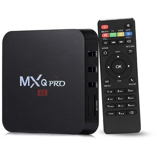 AA Universal Black MXQ PRO Android 5.1 Smart TV Box, Media Player ,IPTV,QuadCore1G/8G UHD 4K