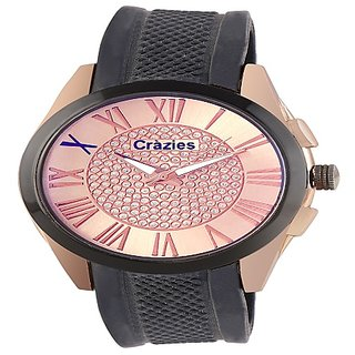 Crazeis Brown Color Dial Analog Watch For Men/BoysCRWT-MD36BR