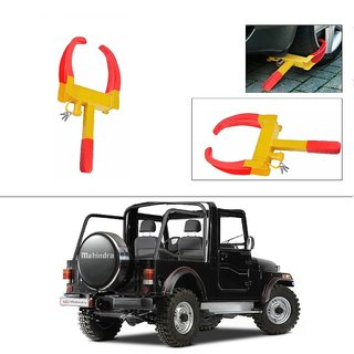 AutoStark  Anti-Theft Car Wheel/Rim Lock-Mahindra Thar