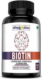 Simply Nutra Biotin 10,000 Mcg - 100 Count