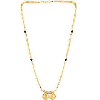 Pourni 2 Vati golden Chain Mangalsutra for women- PRMS83