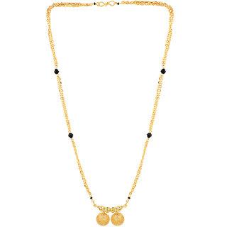 Pourni 2 Vati golden Chain Mangalsutra for women- PRMS84