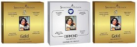 Sahanaaz Hussain 2 Gold 1 diamond facial kit
