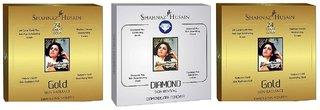 Sahanaaz Hussain 2 Gold 1 diamond facial kit