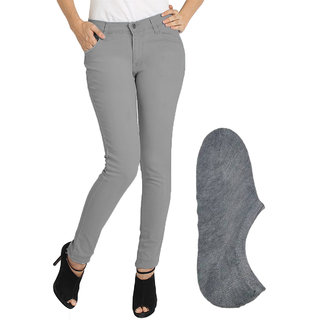 Buy Fuego Dark Grey Skinny Fit Jeans For Women Online - Get 70% Off 0ff024e4e
