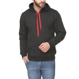 Scott Men's Black Cotton Sweatshirt - ssl2-XXXXL