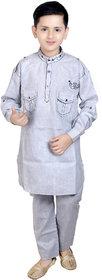 KBKIDSWEAR Cotton Ethnic Wear Kurta and Pyjama Set for Boy's