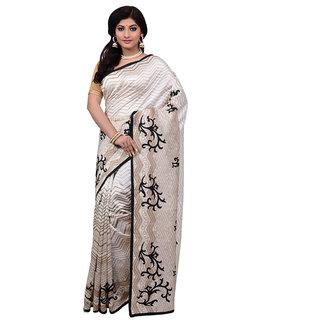 e5fbc210b Buy Mina Saree Black Art Silk Woven Design Saree With Blouse Online ...