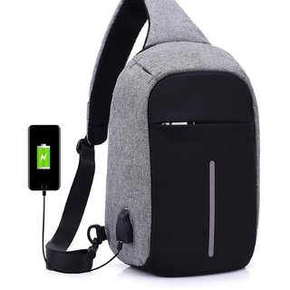 37eeef89b278 Buy Home Story Waterproof Anti Theft and USB Charging Crossbody Backpack  Tablet Bag for Ipad