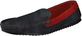 MARCO FERRO Men's Navy Slip On Smart Casuals Shoes