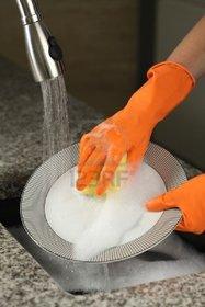House Hold Multi Purpose Gloves Size Large 2 Pair Gardening Dish Washing