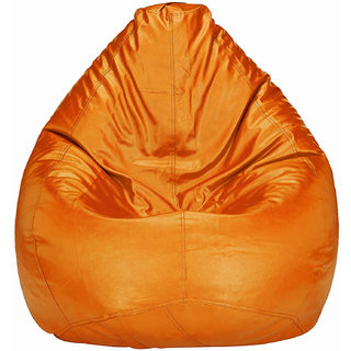 Home Berry XL Orange Bean Bag (without Beans)