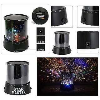 Urban Living Star Master Projector With Usb Wire Turn Any Room Into A Starry Sky