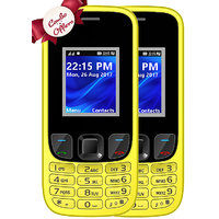 Combo Of IKall K29 (Dual Sim, 1.8 Inch Display, 1800 Ma