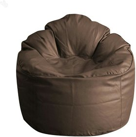 CALIPH XXXL BROWN BEAN BAG SOFA - Beans Not Included ( Covers Only )