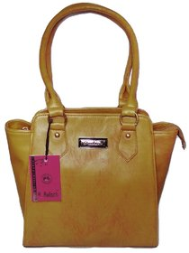 Fashion Shoulder Handbag   Gold Color  For Women  By AZED Collections