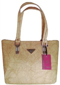 Newyork Shoulder Handbag   Skin Color  For Women  By AZED Collections