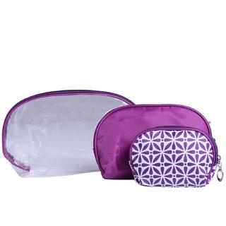 Zornna Womens Purple Pouch