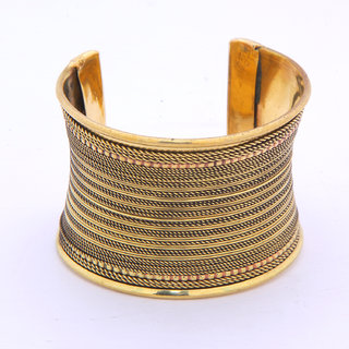 Jewel Treasure Metal Cuff