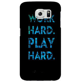 Printgasm Samsung Galaxy S6 Printed Back Hard Cover/Case,  Matte Finish, Premium 3D Printed, Designer Case