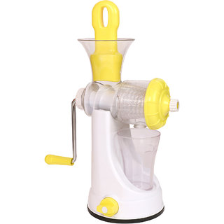 Famous Fruit Vegetable Juicer Manual Hand Juicer Mixer - Color May Very