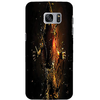 Printgasm Samsung Galaxy S6 Edge Printed Back Hard Cover/Case,  Matte Finish, Premium 3D Printed, Designer Case