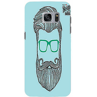 Printgasm Samsung Galaxy S6 Edge Printed Back Hard Cover/Case,  Matte Finish, Premium 3D Printed, Designer Case