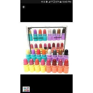 ADS MINI PLAY COLOUR MAGIC LIPSTICK-EYESHADOW-SET-OF-16